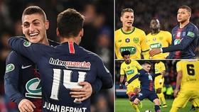 PSG - Nantes 3-0: Verratti, Mbappe, Alves ghi bàn, HLV Thomas Tuchel giành vé chung kết