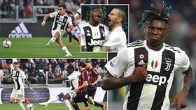 Juventus - AC Milan 2-1: Dybala, Moise Kean tiếp tục giúp Juve bất bại