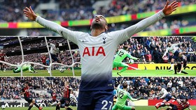 Tottenham - Huddersfield 4-0: Wanyama khai màn, Moura xuất thần lập hattrick