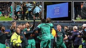 Man City - Tottenham 4-3 (chung cuộc 4-4): Son Heung Min, Llorente hạ HLV Pep Guardiola vào bán kết
