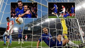 Chelsea - Slavia 4-3 (chung cuộc 5-3): Pedro, Giroud tỏa sáng, HLV Maurizio Sarri giành vé bán kết