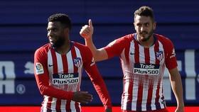 Eibar - Atletico Madrid 0-1: Vắng Griezmann, Thomas Lemar kịp tỏa sáng, HLV Simeone củng cố ngôi nhì