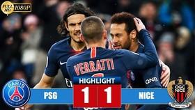 PSG - Nice 1-1: Ganago mở tỷ số, Neymar gỡ hòa trên chấm 11m