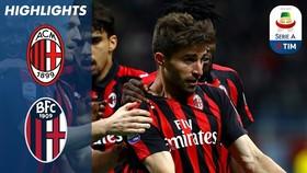 AC Milan - Bologna 2-1: Suso, Fabio Borini lập công và Lucas, Sansone, Dijks nhận 3 thẻ đỏ