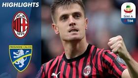 AC Milan - Frosinone 2-0: Piatek, Suso ghi bàn, HLV Gattuso vươn lên vị trí thứ 5