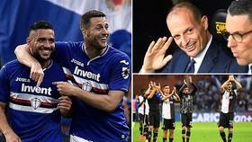 Sampdoria - Juventus 2-0: Vắng Ronaldo, Defrel, Caprari hạ Juve, Quagliarella giành Vua phá lưới