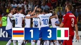 Armenia - Italia 1-3: Belotti lập cú đúp, Pellegrini tỏa sáng giúp Italia dẫn đầu bảng J