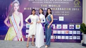 Người đẹp Phan Thị Mơ là gương mặt đại diện Việt Nam tham dự cuộc thi này
