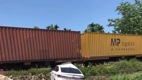 Tuyến đường sắt qua địa bàn Quảng Nam đã lưu thông trở lại sau vụ tai nạn