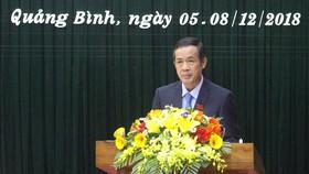 Ông Trần Công Thuật trúng cử Chủ tịch UBND tỉnh Quảng Bình phát biểu nhận nhiệm vụ trước HĐND tỉnh Quảng Bình