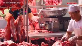 Việt Nam chi gần 24 triệu USD để nhập khẩu thịt heo