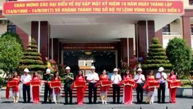 Bộ Tư lệnh Vùng Cảnh sát biển 4 tổ chức khánh thành trụ sở mới