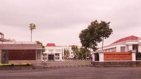 Trụ sở Văn phòng UBND TP Long Xuyên, nơi bà Vương Mai Trinh công tác