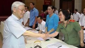 Tổng Bí thư, Chủ tịch nước Nguyễn Phú Trọng thăm, làm việc tại tỉnh Kiên Giang