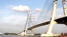 Công trình cầu Vàm Cống đã hoàn thành, đủ điều kiện đưa vào sử dụng