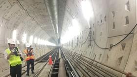 Tuyến metro Bến Thành - Suối Tiên hoàn thành hai tuyến khoan ngầm
