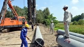 Dự án cao tốc Trung Lương- Mỹ Thuận: Không được thanh toán tiền nhà thầu dừng thi công