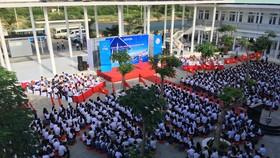 Trungnam Group bàn giao ngôi trường 60 tỷ đồng cho Ninh Thuận trong ngày khai giảng  