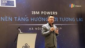 Ông Nguyễn Kim Hòa, Giám đốc quốc gia các giải pháp phần cứng IBM