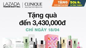 Gian hàng trực tuyến chính hãng Clinique với nhiều ưu đãi