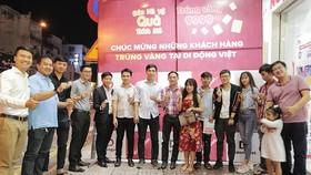 Cơ hội trúng vàng 9999 khi mua iPhone tại Di Động Việt