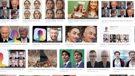 Hàng triệu, hàng triệu khuôn mặt tạo ra từ FaceApp