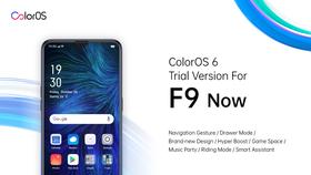 F9 đã được nâng cấp lên ColorOS 6