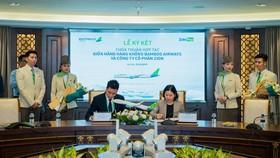 Bamboo Airways và ví điện tử ZaloPay chí hính thức ký kết thỏa thuận hợp tác
