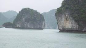 Một góc vịnh Hạ Long. Ảnh ĐÀO THỤY