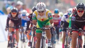 Tay đua Nguyễn Thị Thật đang tập trung cho Olympic. Ảnh: HOÀNG HÙNG