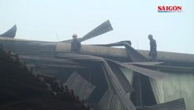 Cháy lò luyện thép tại KCN Quất Động, 2 người bị thương
