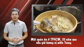 Quán cơm Đo Đo - 20 năm giữ hương vị miền Trung