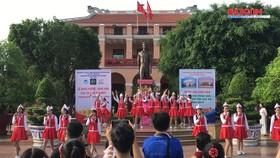 """Hơn 600 học sinh tham gia Ngày hội văn hóa """"Bác Hồ với thiếu nhi – Thiếu nhi với Bác Hồ"""""""