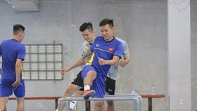Đội tuyển futsal Việt Nam hội quân vào sáng 11-2. Ảnh: Anh Trần