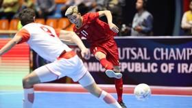 U20 futsal Việt Nam sớm giành vé vào Tứ kết. Ảnh: Anh Trần