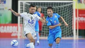 Kardiachain Sài Gòn FC suýt gây bất ngờ trước Thái Sơn Nam. Ảnh: Thanh Đình