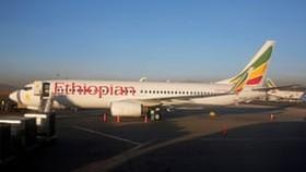 Máy bay của hãng hàng không Ethiopian Airlines tại sân bay Addis Ababa. Ảnh:REUTERS