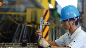 Processing and manufacturing industry continued to attract most investments. (Photo: SGGP)