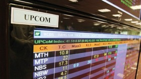 Market capitalization of UPCoM market exceeds VND1 quadrillion
