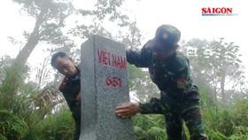 Việt Nam, Lào phối hợp tuần tra song phương bảo vệ biên giới