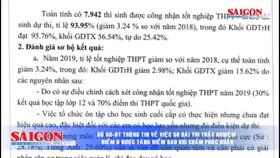 Điểm tin SGGP Online ngày 30-7-2019