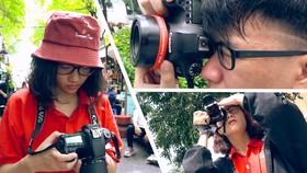 Bạn trẻ và niềm đam mê nhiếp ảnh