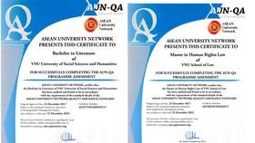 Thêm 4 chương trình đạt chuẩn kiểm định AUN