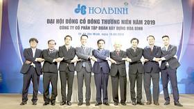 Đại hội Cổ đông 2019: Công ty CP Tập đoàn Xây dựng Hòa Bình