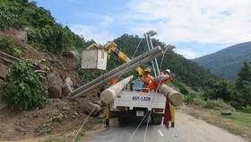 An toàn điện mùa mưa