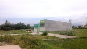 Một khu dân cư tự phát tại Phan Thiết