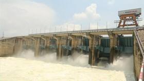 Hồ thủy điện Trị An. Ảnh: TTXVN