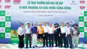 Lễ trao giải thưởng đua xe đạp Vì môi trường và sức khỏe cộng đồng