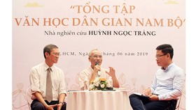 """Công bố công trình """"Tổng tập Văn học dân gian Nam bộ"""""""