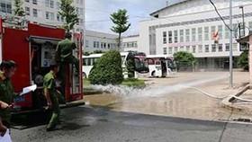 Vòi chữa cháy không đạt chuẩn với lỗi bung đầu nối trong quá trình thử nghiệm